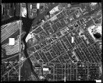 Chicago Aerial Survey 1938 #46, Paulina to Halsted, South Branch Chicago River to 32nd