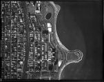 Chicago Aerial Survey 1938 #305, Ridgewood to lakefront, 50th to 56th