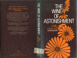 Wine of astonishment (dustjacket)
