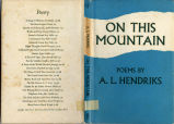 On this mountain: and other poems