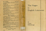 Negro in English literature: a...