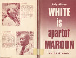 White is apartof maroon (dust...
