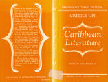 Critics on Caribbean literature: readings in literary criticism