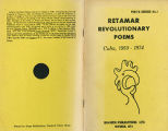 Retamar revolutionary poems: Cuba, 1959-1974