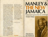 Norman Washington Manley and the new Jamaica: selected speeches and writings, 1938-68