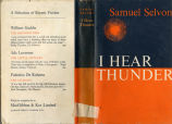 I hear thunder (dustjacket)