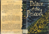 Palace of the peacock (dustjacket)