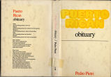Puerto Rican obituary (dustjacket)