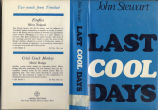Last cool days (dustjacket)
