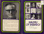 Builders of Barbados (dustjacket)