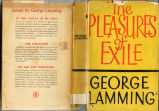 Pleasures of exile (dustjacket)