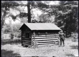 Log Cabin, Harms Woods