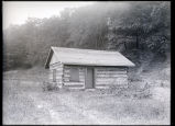 Neuman log cabin, Swallow Cliff