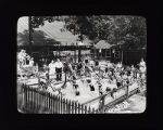 Picnics and Rec. Activities - Small Children in Pool