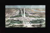 Artist's Plan of Washington DC