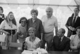 Congressman Frank Annunzio with Jane Byrne and group