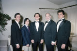 Sal Lato and sons John, Mark, and Frank Lato with Congressman Frank Annunzio