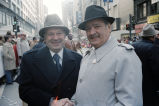 Congressman Frank Annunzio with a friend at the Columbus Day Parade