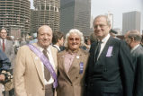 Joe Annunzio, Jerry, and Lee Iacocca