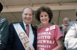 Congressman Frank Annunzio and Commissioner Gloria Alitto Majewski