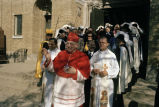 Cardinal Cody leads procession out of church