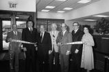 Congressman Frank Annunzio at the opening of Lincolnwood Bank
