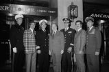 Tony Fornelli, Congressman Frank Annunzio, and members of the armed forces
