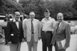 Congressman Frank Annunzio and other officials