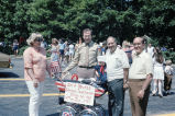 Congressman Frank Annunzio and Anthony C. Laurino on July 4th