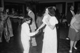 Congressman Frank Annunzio's daughter Susan and grandson Mark dancing