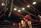 Boxers at the Golden Gloves Tournament, image 047