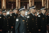 Ceremony for new police recruits, image 01