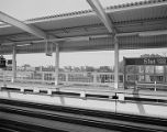 Elevated railroad stops, image 004