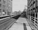Elevated railroad stops, image 012