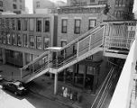 Elevated railroad stops, image 011