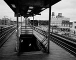 Elevated railroad stops, image 149