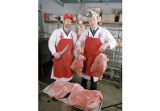 Butchers with Corned Beef