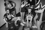 Cheerleaders Prepare for Competition