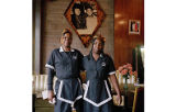 Waitresses at Soul Queen Restaurant