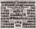1943 graduating class, University of Illinois College of Medicine
