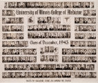 1943 (December) graduating class, University of Illinois College of Medicine