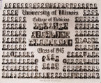 1945 graduating class, University of Illinois College of Medicine
