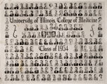 1954 graduating class, University of Illinois College of Medicine
