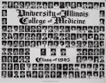 1985 graduating class, University of Illinois College of Medicine