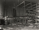 Construction of the General Exhibits building