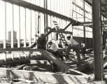 [Construction of the General Exhibits building at A Century of Progress, 1932.]