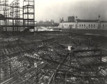 [Exterior view of the Hall of Science under construction in preparation for A Century of Progress....