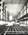 [Interior view of the Hall of Science under construction in preparation for A Century of Progress. This