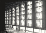 [Interior view of the Hall of Science under construction in preparation for A Century of Progress....
