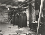 [Electrical apparatus powering the Hall of Science building.]